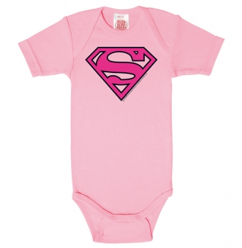Superman - pink / Babybody